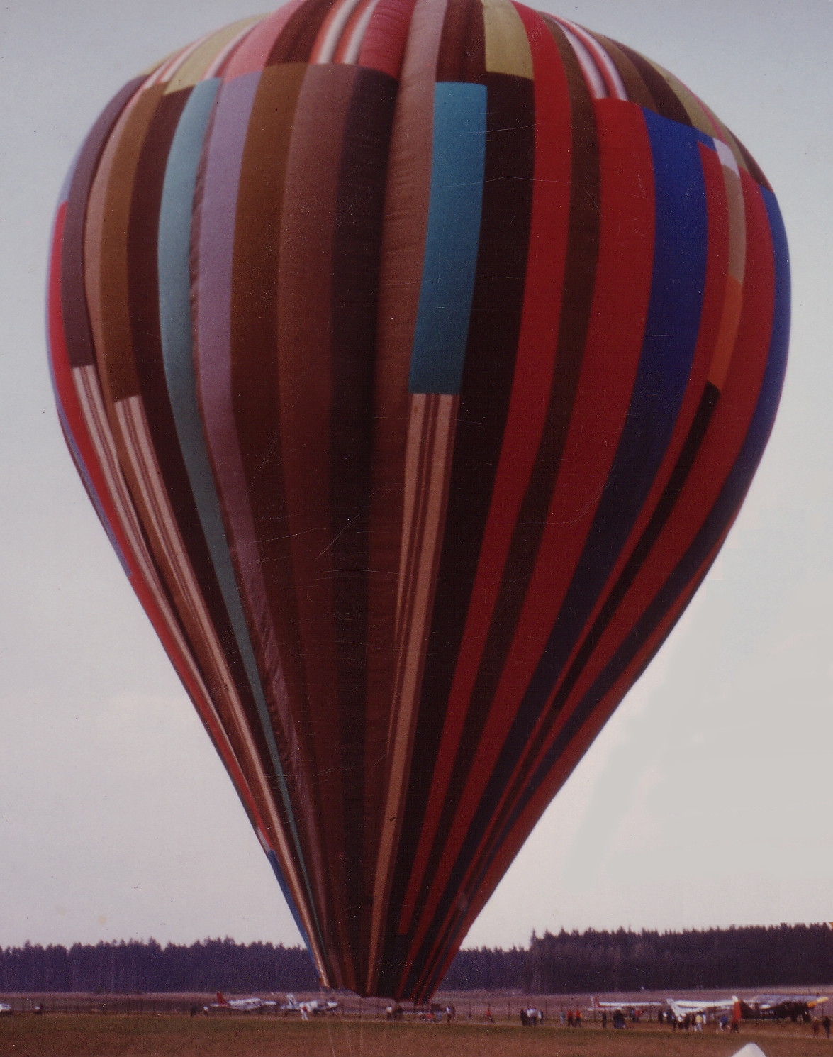 Today in history… intrepid escape by hot air balloon!